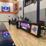 LED Video Wall and Scorer's Table