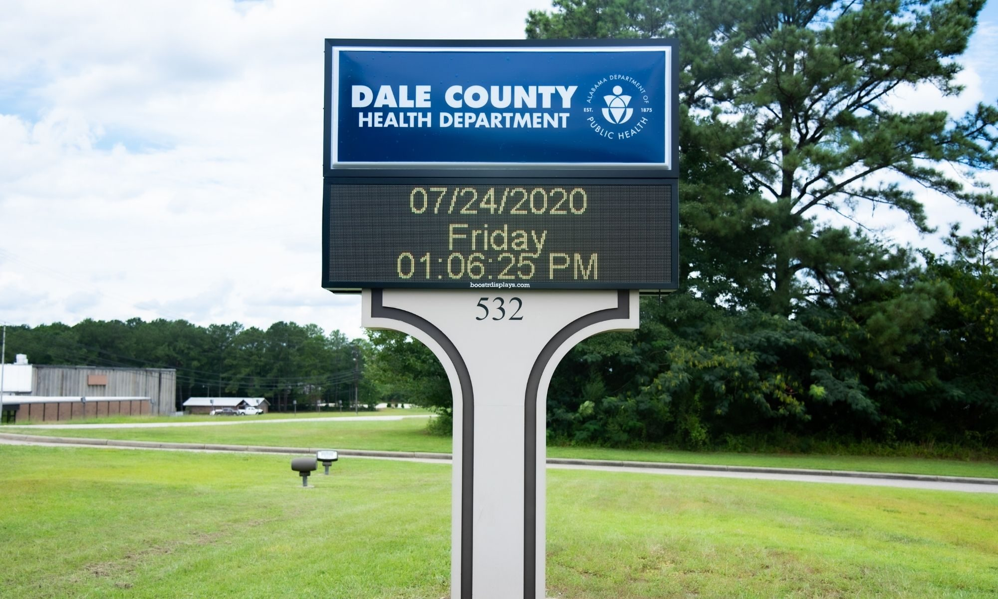 Dale County Health Department Outdoor Sign